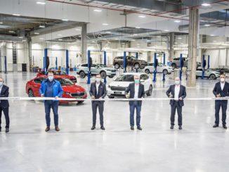 Nuovo centro di collaudo all'avanguardia inaugurato da Škoda Auto