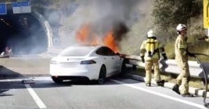maggori informazioni sugli incendi dei veicoli elettrici