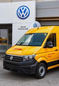 Volkswagen e-Crafter DHL Express