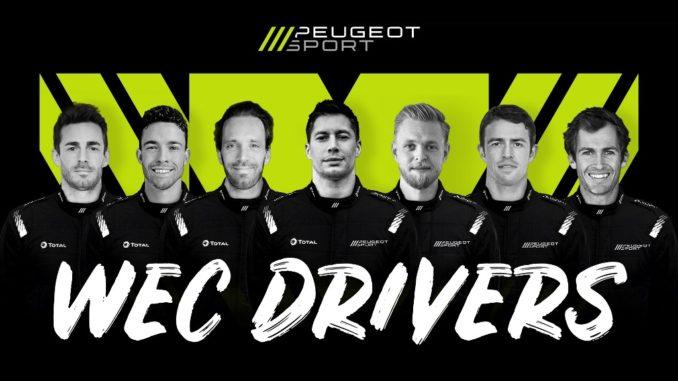 Il ritorno di Peugeot al WEC: un team, sette piloti
