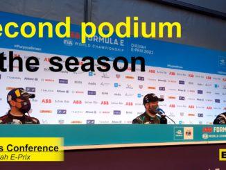 Le interviste della gara 2 del Diriyadh E-Prix di Formula E