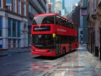 Nuova versione passo corto dell'autobus elettrico a due piani BYD ADL Enviro400EV