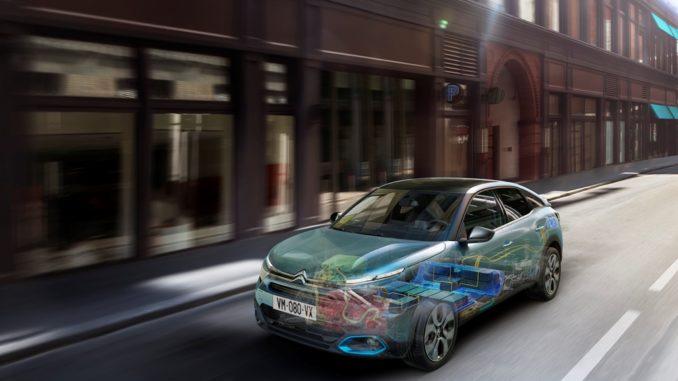 Climatizzare l'abitacolo di Nuova Citroën ë-C4 – 100% ëlectric con la app MyCitroën