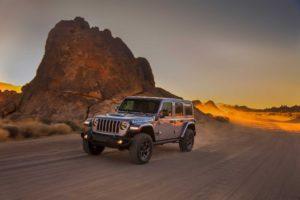 A marzo dovrebbe essere svelato il Jeep Wrangler elettrico
