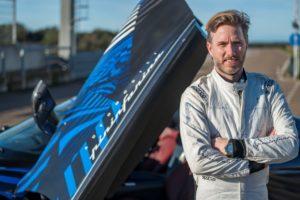 Test della Pininfarina Battista a Nardò con Nick Heidfeld al volante