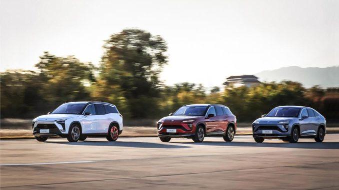 NIO ha consegnato 7.225 veicoli nel gennaio 2021