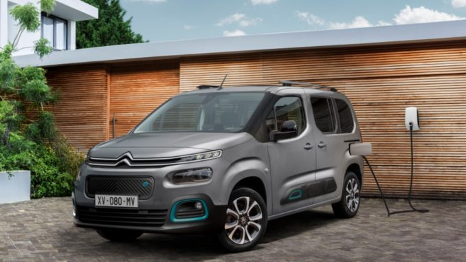 Nuovo Citroën ë-Berlingo, il multispazio diventa elettrico