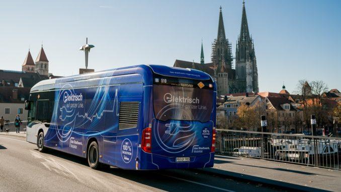 Siemens installa stazioni di ricarica per gli eBus del trasporto pubblico locale di Ratisbona