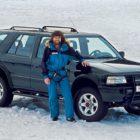 Opel-Markenbotschafter Reinhold Messner schätzt den Opel Frontera (1995)