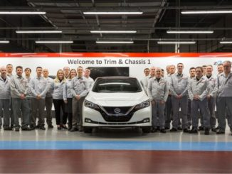 Nissan Leaf supera in produzione la Bluebird