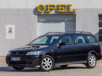I seicentomila chilometri di un'Opel Astra