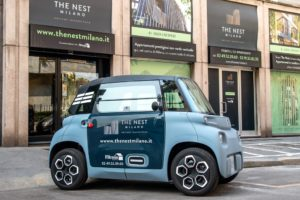 Servizio di car-sharing condominiale con Ami – 100% ëlectric