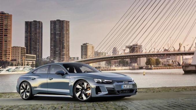 Al via gli ordini della Audi e-tron GT