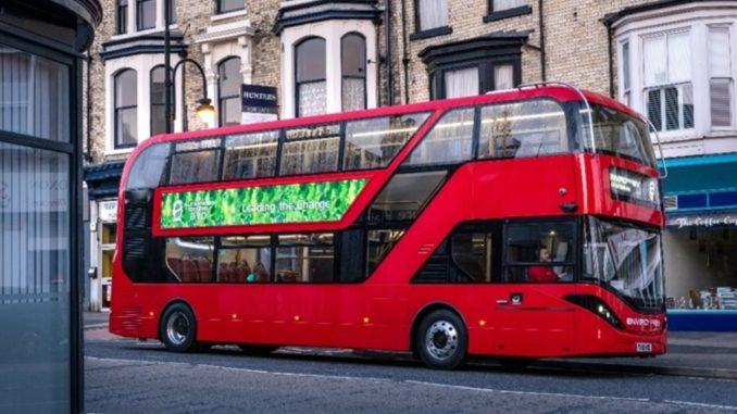 BYD ADL Enviro400EV bus