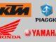 Consorzio Honda, KTM, Piaggio e Yamaha per batterie intercambiabili