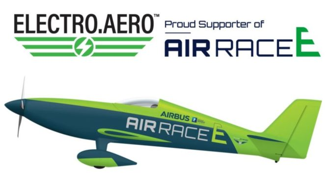 Electro Aero Pty Ltd. è il primo sostenitore ufficiale di Air Race E