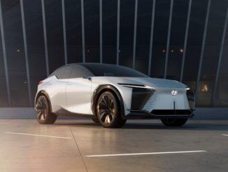 Anteprima mondiale di Lexus LF-Z Electrified