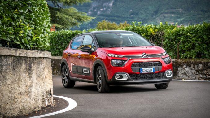 Viaggiare in sicurezza in città con Nuova Citroën C3