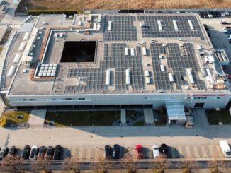 Porsche Italia. Impianto fotovoltaico