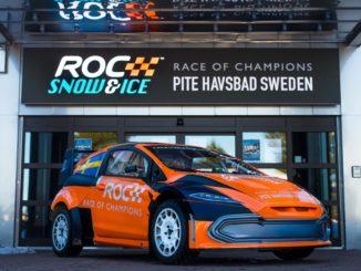 Le vetture FIA RX2e alla Race of Champions 2022