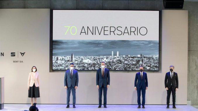 partnership tra Iberdrola, Gruppo Volkswagen e Seat