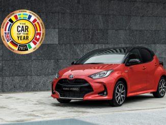 Toyota Yaris è l'Auto dell'Anno 2021