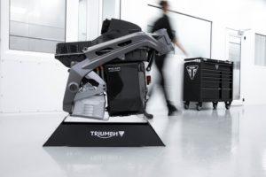 Conclusa la seconda fase del progetto Triumph TE-1