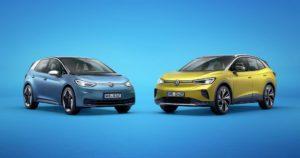 Aggiornamenti over-the-air per la gamma Volkswagen ID.