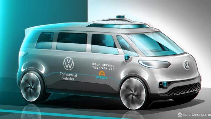 Sviluppo della guida autonoma da Volkswagen Veicoli Commerciali