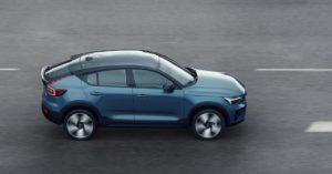 Nuova Volvo C40 Recharge, progettata per essere elettrica