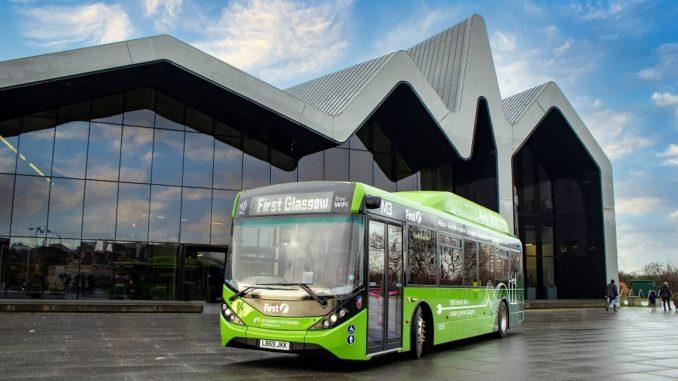 First Bus ha ordinato 126 autobus elettrici BYD ADL per Glasgow