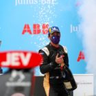 Jean-Eric Vergne (FRA), DS Techeetah, 1st position, celebrates on the podium