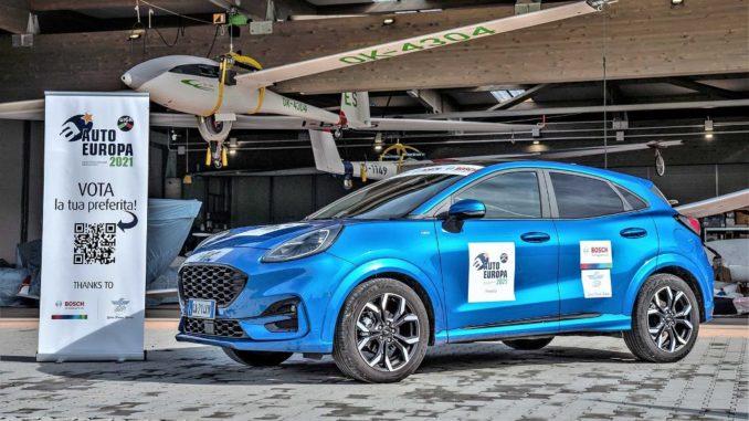 premio Auto Europa 2021 alla Ford Puma