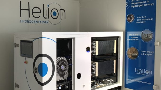 Alstom acquista Helion Hydrogen Power