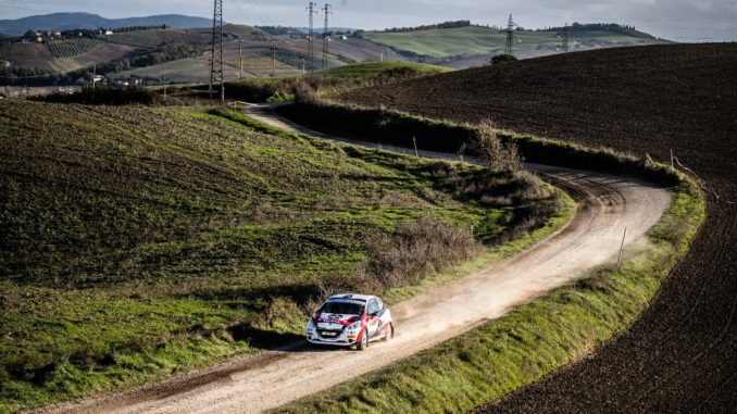 Il Peugeot Competition208 Rally Cup Top 2021 parte dal Rally di Sanremo