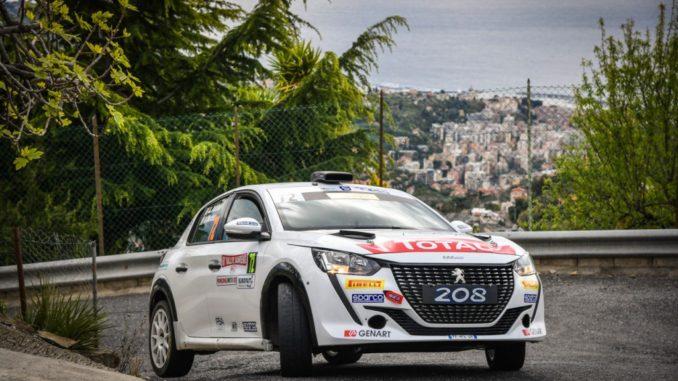 Nuova vittoria della Peugeot 208 Rally 4 nel Sanremo 2 ruote motrici