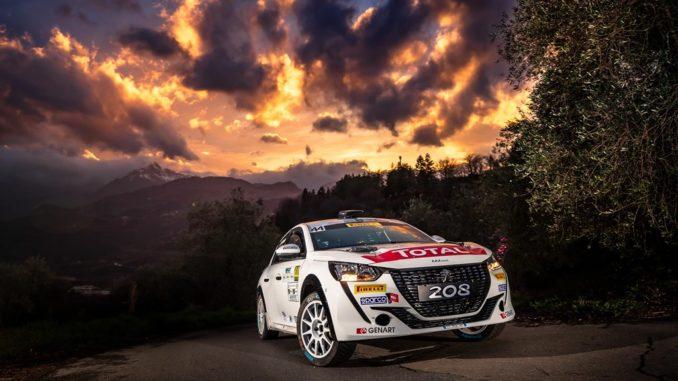 68° Rally di Sanremo. Peugeot ed i fratelli Nucita tentano il bis