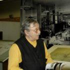 Opron ad Antony (F) nel 2004 alla mostra dedicata a Bertoni 02