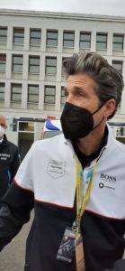 Patrick Dempsey in Formula E