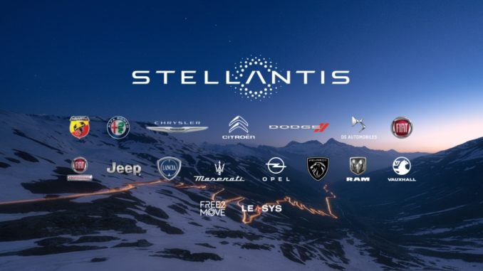 Stellantis logo brands