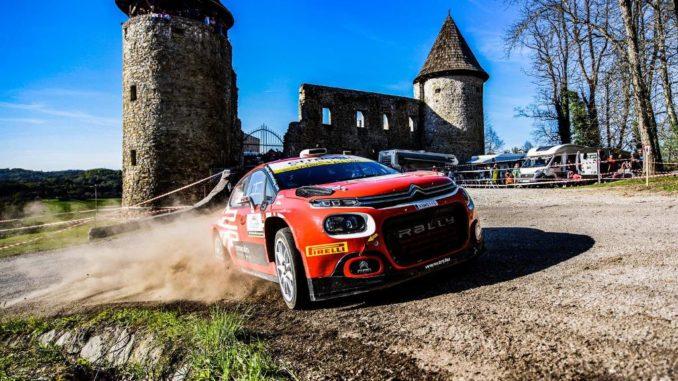Vittoria Citroën C3 Rally 2 nel Rally della Croazia