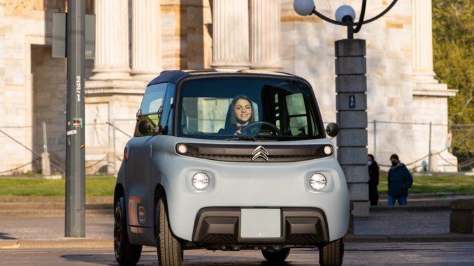 Consegnata la prima Citroën AMI 100% ëlectric in Italia