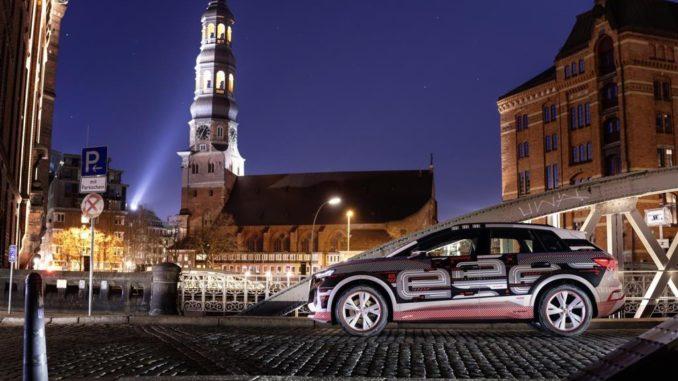 La realtà aumentata sulla Audi Q4 e-tron