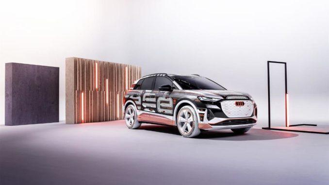 Anteprima mondiale live a Milano di Audi Q4 e-tron