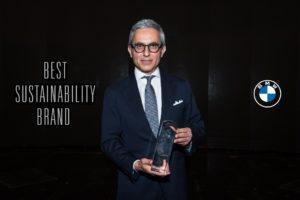 """BMW premiata come """"Best Sustainability Brand"""""""