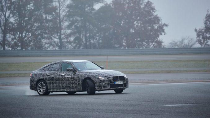 Il fascino sportivo della BMW i4 a trazione elettrica