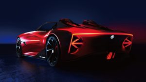 Debutto allo Shanghai Auto Show della concept car MG Cyberster