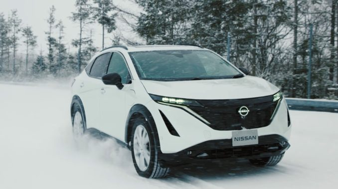 test Nissan Ariya