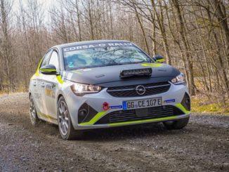 Il sound della Opel Corsa-e Rally elettrica