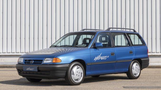 Storia. Trent'anni del prototipo elettrico Opel Impuls 2